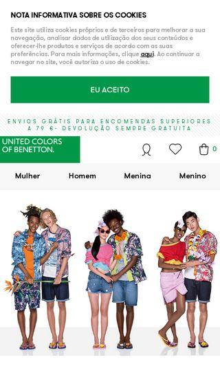 83725febe Código desconto United Colors of Benetton » 10% OFF » Cupão desconto ...